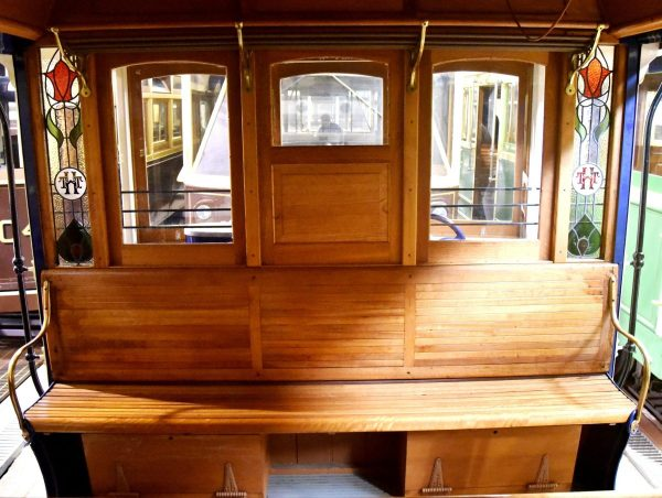 Hawthorn Tramways Trust No. 8 tram built in Adelaide in 1916 saw service in Hawthorn and Bendigo.